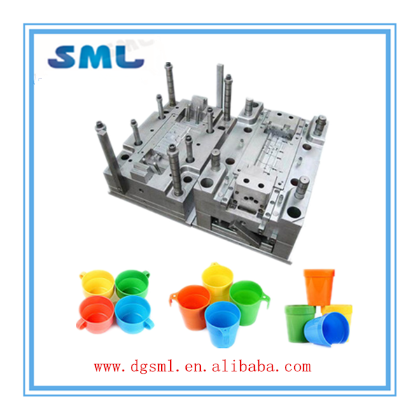 plastic mold injection molding for oem cup / custom plastic cup production/ new design cup maker