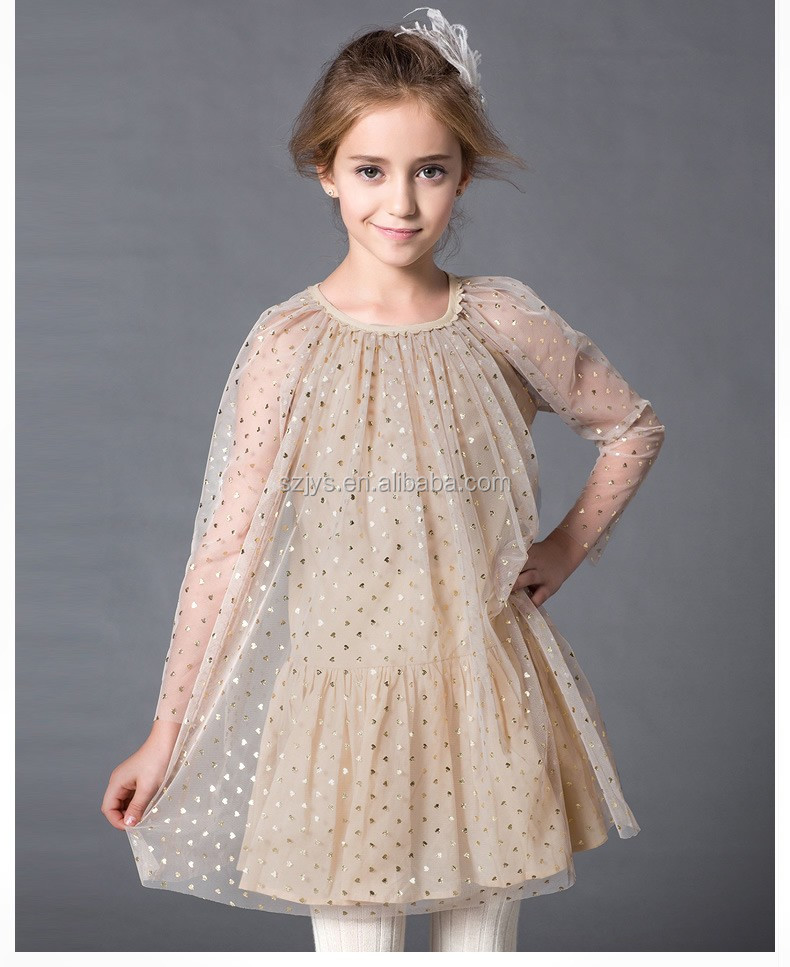 2016 high quality baby dress pakistani children frocks designs