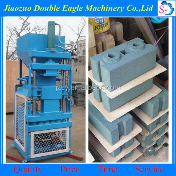hydraulic small clay brick block machine/lego brick clay machine