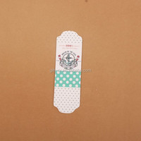 Chinese stylish paper bookmark