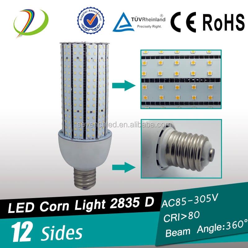 12 sides Fin radiator 360degree 110lm/w dimmable led bulb 2600k e11 led corn bulb
