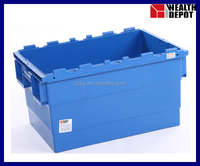 N-6040/315B - Nestable Plastic Storage Box without Lids