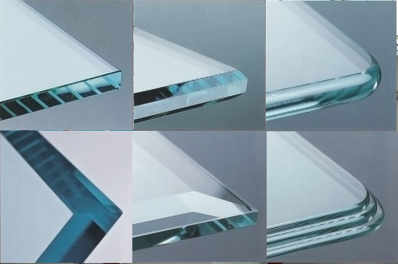 Produce 3mm 4mm 5mm Round Tempered Glass With Flat Pencil