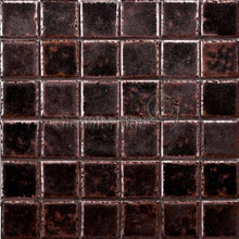 Black Dynastic Ceramic Tile Mosaic for Wall&Home&Kitchen