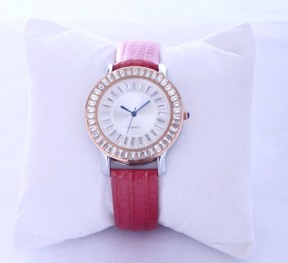 Assisi Wholesale Competitive Price DIY Dress Ladies Solid Gold Watches