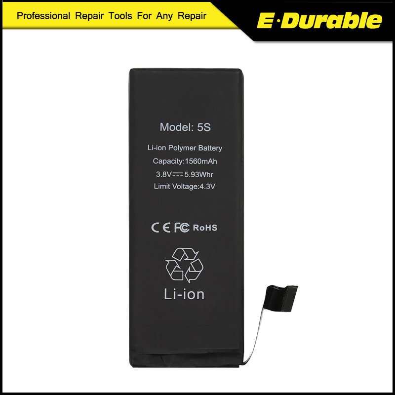 For Apple IPhone 5S Internel Replacement Lithium High Capacity Battery New