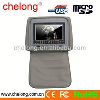 New arrived 7inch new panel car sun visor lcd monitor