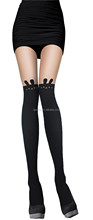 Wholesale seamless flower detail fishnet nude girls pictures sexy pantyhose/tights