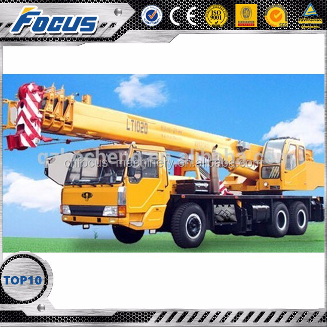 LT1036-1 Gross vehicle weight GVW 37000 kg trucks with cranes,manitowoc crane