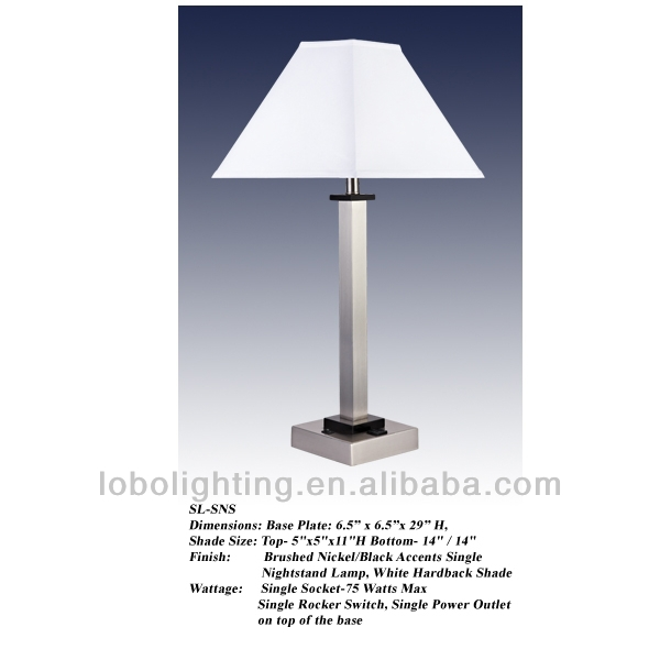 China Hotel Lamps With Electrical Outlets, China Hotel Lamps With ...