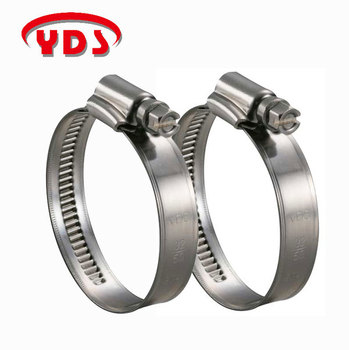 Stainless Steel Iron Tightener German Style Hose Clamp