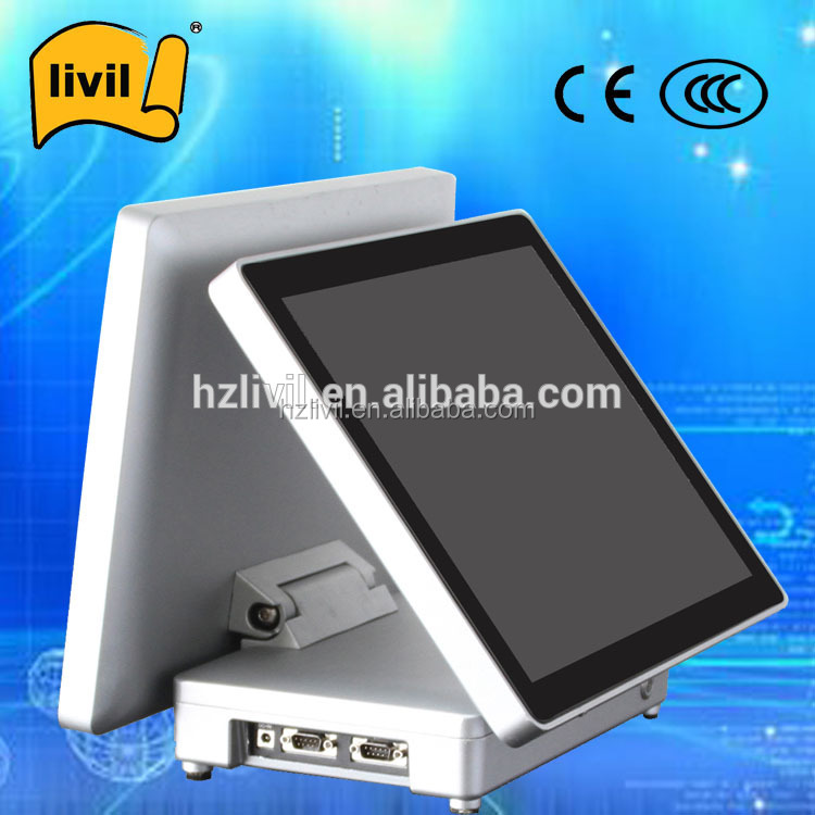 "15"" touch screen pos system /cash drawer/ pos machine with low price"