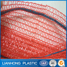 Multifunctional mesh net bag for fruit packing, pe plastic mesh bag, factory price mesh bag for oranges 25kg