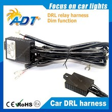 2015 NEW 12v Daytime Running Light DRL Relay Harness Auto Car Control On/Off Switch