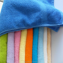 100 cotton dobby terry bath towel