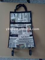 Promotional Microfiber Foldable Cheap Shopping Bags