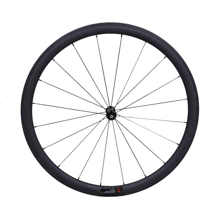 38mm Depth 700C Carbon Road Bicycle Wheelset Clincher