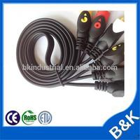 Dubai market high end 3 rca to 3rca cable made in China