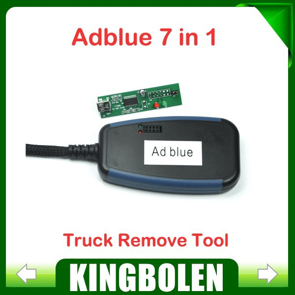 New Arrival Adblue 7 in 1 Emulation/Truck Remove Tool For MAN/Scania/Iveco/DAF/Volvo/Renault