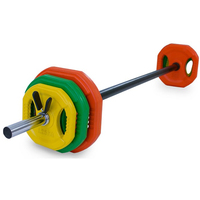 gym equipment LesMills body pump barbell set
