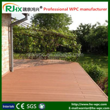 new tech composite decking for outdoor garden decoration/wpc crack-resistant decking