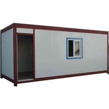 Prefabricated modern container houses, 20ft high quality Detachable flat pack container