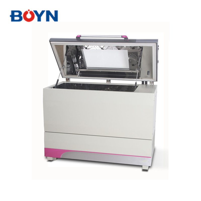 ZWY-111C laboratory Economic 260L orbital shaker incubator with best price with Large double-folded glass window