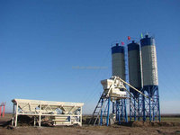50m3/h HZS50 Skip Type Small Concrete Batching Plant for Sale
