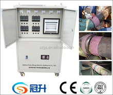 oil pipeline post weld heat treatment console