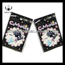 crystal tattoo mobile phone gem stone sticker