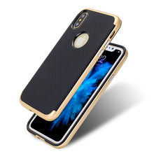 wholesale prevent damage carbon fiber mobile cell phone cases for i phone7 case bags