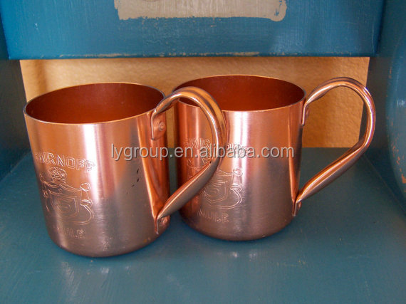 450ml vodka cocktails MULE copper MUG,450ml vodaka copper mule mug ,wine cup,16oz Moscow copper Mule Mugs Copper Mugs