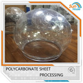 Thermoforming fabrication pc protective colored polycarbonate dome light covers