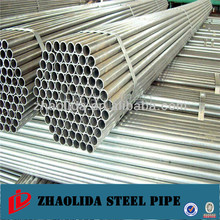 galvanized steel pipe post and rail fencing