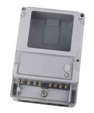DDSF-2034-3 Single-phase intellective energy meter caseplastic box plastic box electrical supply