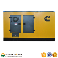 Air Cooled 160kW 6 Cylinders Diesel Genset With Silent Type