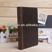 MEGNETIC RETRO VINTAGE BOOK LEATHER STAND SMART CASE COVER FOR IPAD AIR