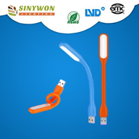 NEW Portable Flexible Silicone LED USB Light For Notebook PC Laptop Power Bankled light