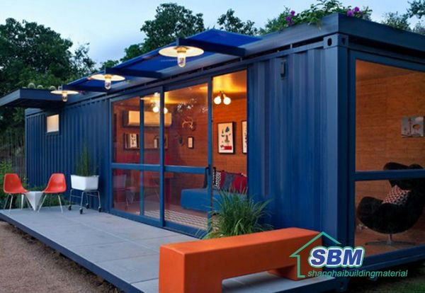 european container house