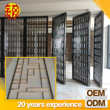 modern folding partition design decorative wall hanging room divider for house