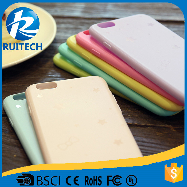 Simple colorful silicone case for iphone shell,for iphone colorful soft case