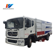 New design 4x2 5000 liter Street sweeper vacuum truck for sale