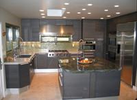 Modern lacquer kitchen cabinet design kitchen island base cabinet