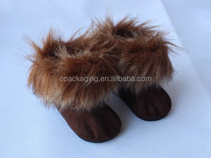 Wholesale American girl doll accessories manufacture shoes brown 18 inch American girl doll boots