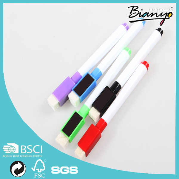 HOT SELL Magnetic whiteboard Marker with built-in Eraser