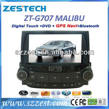 ZESTECH car dvd built-in gps bluetooth radio car TV for Chevrolet Malibu with dvd player