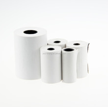 Direct thermal plain roll labels