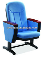 2015 Modern Design Auditorium Hall Cinema Theater Chair, Fixed Auditorium Seating For School Lecture Hall XJ-103