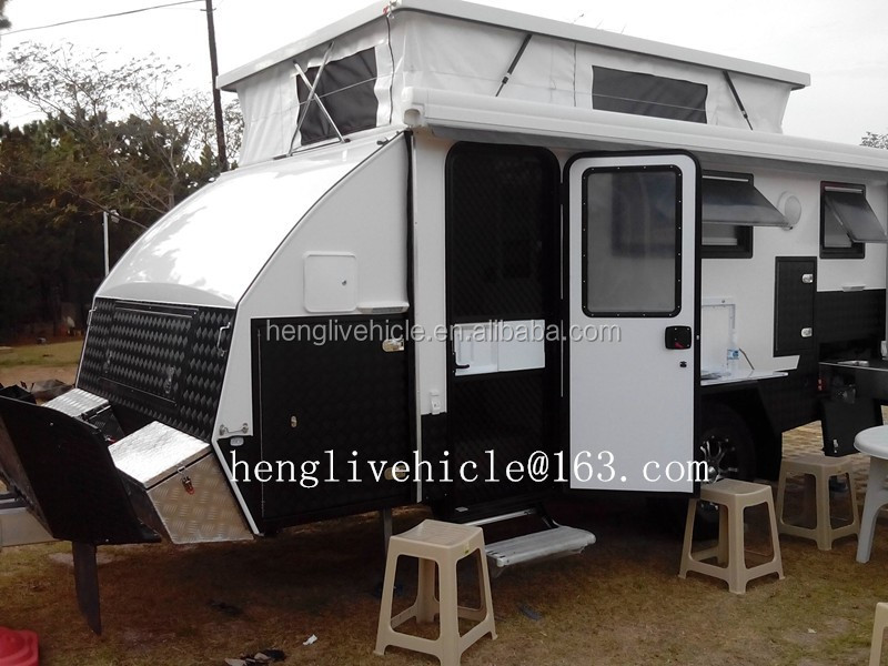 Off Road Hybrid Caravan Trailer Bunk Beds Buy Caravan Trailer For