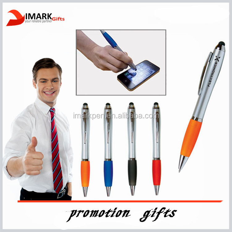 hot selling plastic Emissary Duo Pen/Stylus for Touch Screen Devices